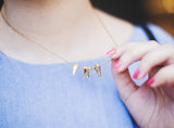 Gold Teeth Necklace
