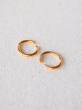 Gold Above Knuckle Midi Rings (Set of Two)