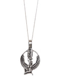 Silver Isis Pendant Necklace