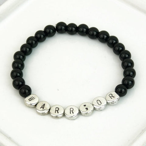 Warrior Bead Bracelet [8 Bead Options]