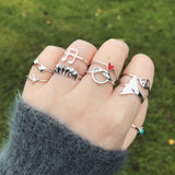 Music Note Sterling Silver Ring
