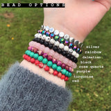 Vegan Bead Bracelet [8 Bead Options]