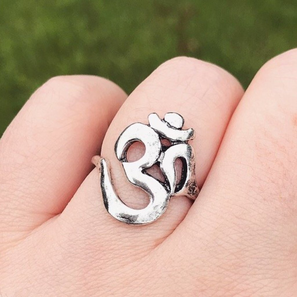 Silver Ohm Ring