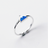 Blue Mountain Sterling Silver Ring