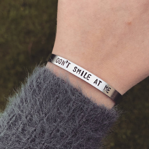 "Billie Eilish ""Don't Smile At Me"" Bracelet"