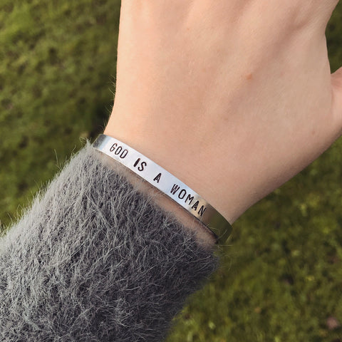 "Ariana Grande ""God Is A Woman"" Bracelet"