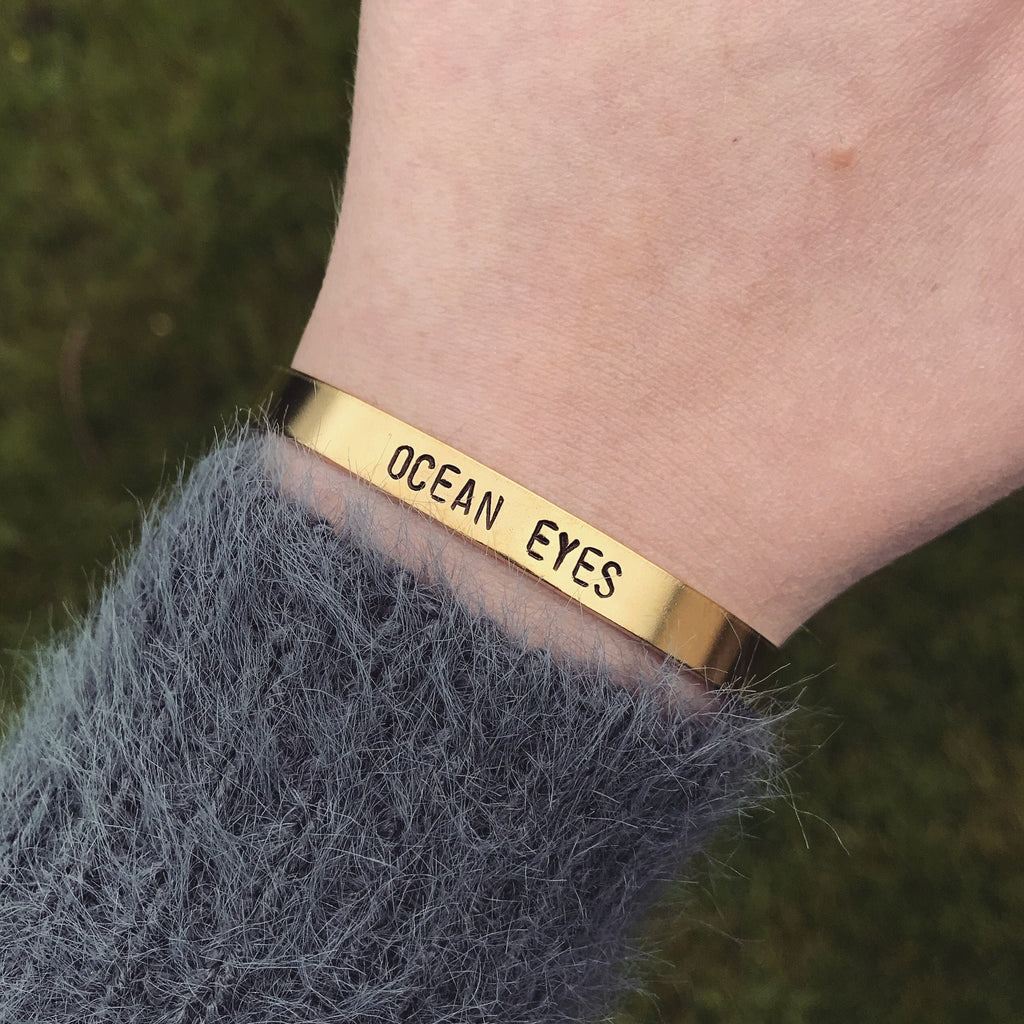"Billie Eilish ""Ocean Eyes"" Bracelet"