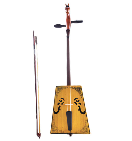 Professional Travel Size Horse Head Fiddle Morin Khuur Inner Mongolian Instrument