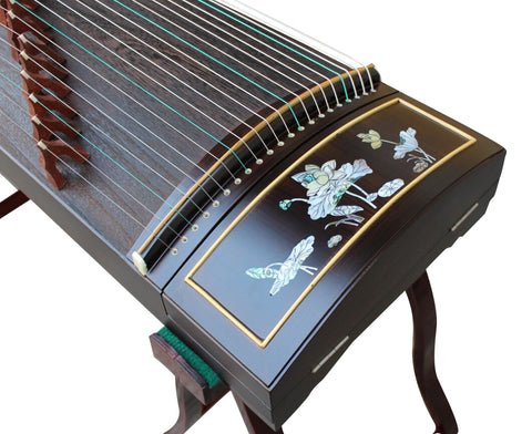 Buy Concert Grade Purple Sandalwood Guzheng Instrument Chinese Zither