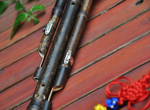 Buy Performance Level Chinese Free Reed Gourd & Bamboo Flute Hulusi Instrument