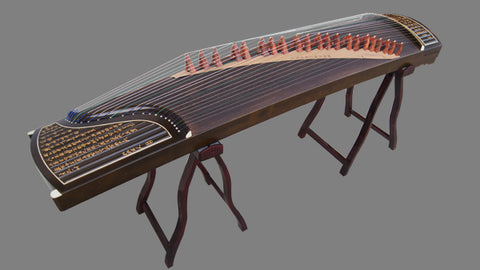 Buy Professional Carved Nanmu Wood Guzheng Instrument Chinese Zither Harp Zheng
