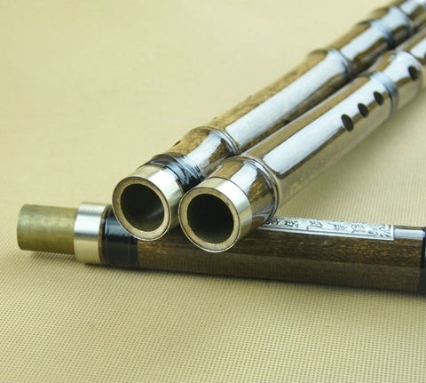 Buy Concert Grade Bamboo Flute Xiao Instrument Chinese Shakuhachi 3 Sections