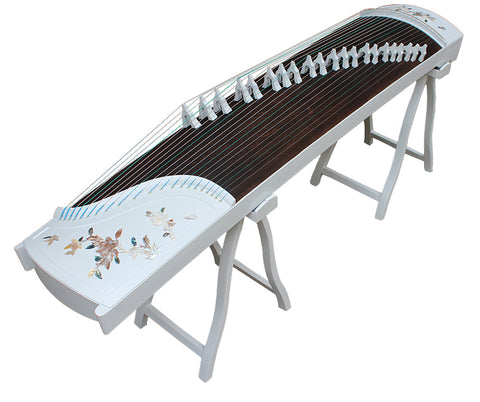Buy Professional Shell Carved Rosewood Guzheng Instrument Chinese Zither