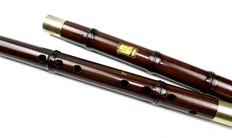 Buy Master Made Chinese Aged Rosewood Flute Xiao Instrument 3 Sections With Case
