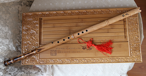 Professional Level Beech Wood Flute Xiao Instrument Chinese Shakuhachi 1 Section