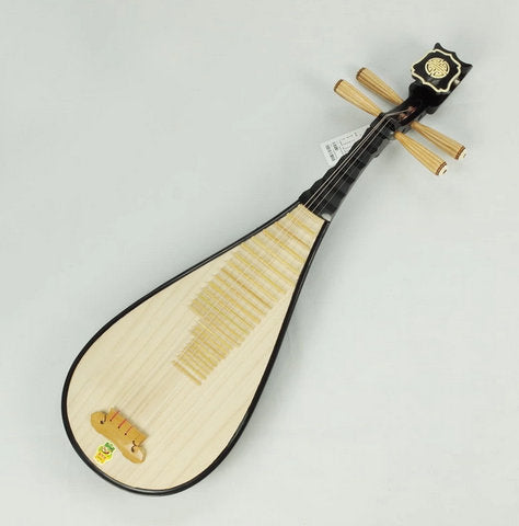Professional Travel Size Pipa Instrument Chinese Lute With Accessories