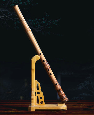 Professional Level Beech Wood Flute Xiao Instrument Chinese Shakuhachi 1 Section Short Type