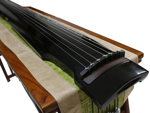 Beginner Level Paulownia Wood Guqin Zither Chinese 7 String Instrument Zhong Ni Style