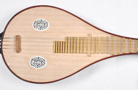 Buy Professional Level Chinese Rosewood Liuqin Instrument With Case