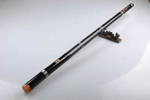 Study Level Black Color Purple Bamboo Flute Xiao Instrument Chinese Shakuhachi One Section
