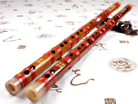 Buy Professional Level Bitter Bamboo Flute Chinese Dizi Instrument with Accessories