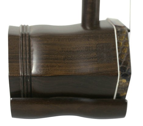 Professional Shell Carved Rosewood Erhu Instrument Chinese Voilin With Accessories