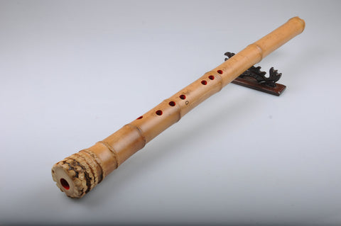 Buy Master Made Aged Bamboo Japanese Shakuhachi with Inner Painting U Style Mouthpiece