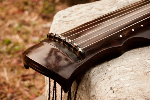 Buy Premium Quality Aged Fir Wood Guqin Chinese 7 String Zither Ling Ji Style