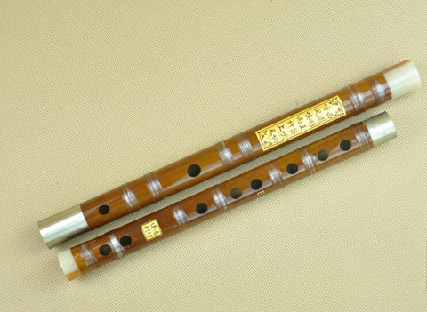 Buy Study Level Bitter Bamboo Flute Dizi Instrument with Accessories 2 Sections