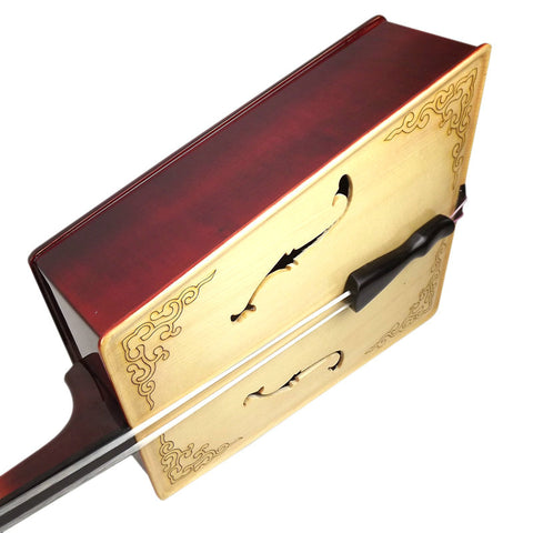 Buy Professional Black Sandalwood Dragon & Horse Head Morin Khuur Inner Mongolian Instrument