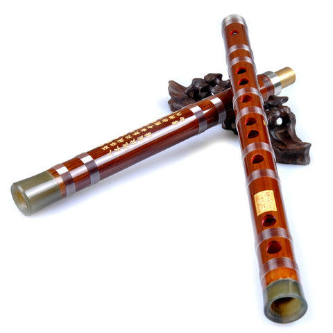 Buy Concert Grade & Master Made Chinese Bitter Bamboo Flutes Kit with Case