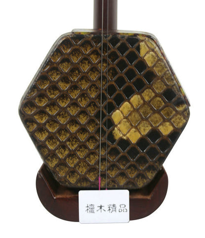 Professional Level Erhu Instrument Chinese Voilin Fiddle With Accessories