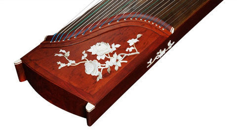 Buy Professional Shell Carved Rosewood Guzheng Instrument Chinese Koto