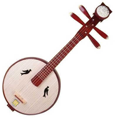 Buy High Quality Xiao Ruan Instrument Chinese Mandolin Ruan With Accessories