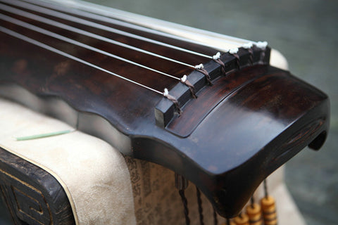 Buy Premium Quality Aged Fir Wood Guqin Chinese 7 String Zither Luo Xia Style