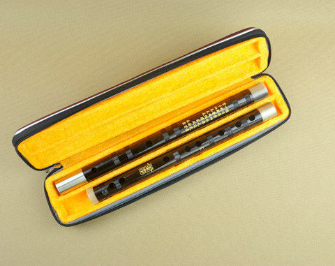 Buy Master Made Chinese Black Sandalwood Flute Dizi Instrument With Accessories
