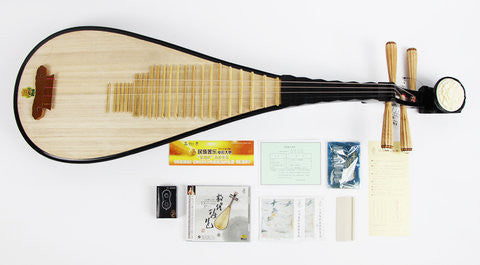 Professional Level Chinese Lute Pipa Instrument With Accessories