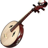 Kaufen Acheter Buy Professional Carved Zhongruan Instrument Chinese Mandolin Ruan W/ Accessories