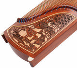 Professional Level Red Sandalwood Guzheng Instrument Chinese Koto