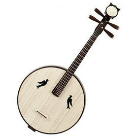 High Quality Da Ruan Instrument Chinese Mandolin Ruan With Accessories