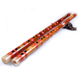 Kaufen Acheter Buy Professional Level Bitter Bamboo Flute Chinese Dizi Instrument with Accessories