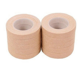 Guzheng Pure Cotton Non-Allergenic Tapes for Finger Nails 10 Rolls