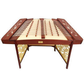 Concert Grade Rosewood Yangqin Instrument Chinese Hammered Dulcimer 405 Type with Accessories