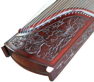 Premium Quality Purple Sandalwood Dragon Guzheng Instrument Chinese Zither