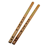 Beginner Level Travel Size Bamboo Flute Dizi Instrument One Section