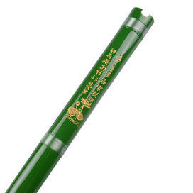 Study Level Green Color Purple Bamboo Flute Xiao Instrument Chinese Shakuhachi One Section