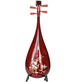 Kaufen Acheter Buy Professional Shell Carved Rosewood Pipa Instrument Chinese Lute With Accessories