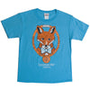 Fox with Bowtie Youth Short Sleeve Tee