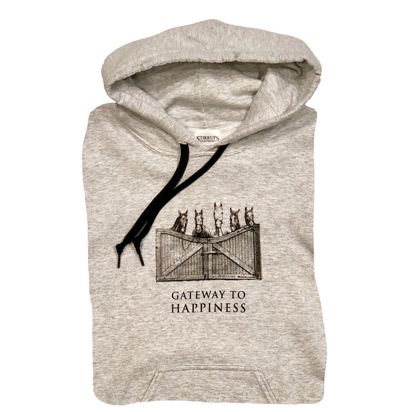 Gateway To Happiness Stirrups Classic Adult Hoodie