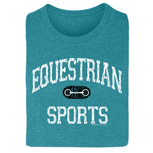 Equestrian Sports Ladies Short Sleeve Tee 20113